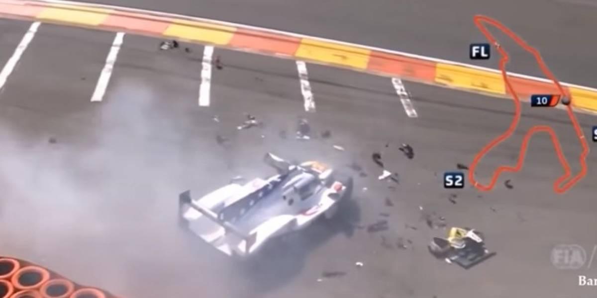 VIDEO: Piloto se fractura ambas piernas después de tremendo accidente