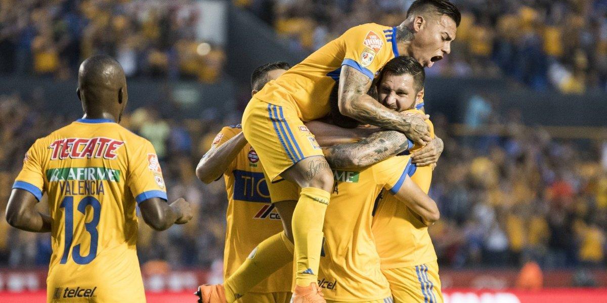 Tigres de Eduardo Vargas venció sin problemas a Santos Laguna y se ilusionan en los playoffs mexicanos