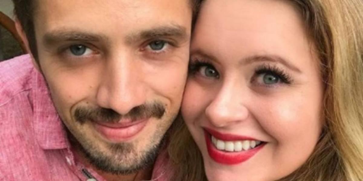Rafael Cardoso leva 'bronca' da mulher após errar nome do filho