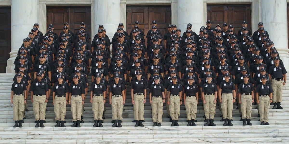 Guardia Nacional gradúa 216 jóvenes de programa para desertores escolares