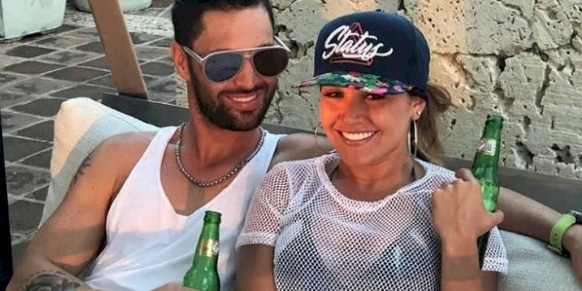 Gredmarie Colón y Fredito Matthews despiden el año juntos en España