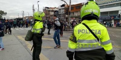 Protesta de Bicitaxistas