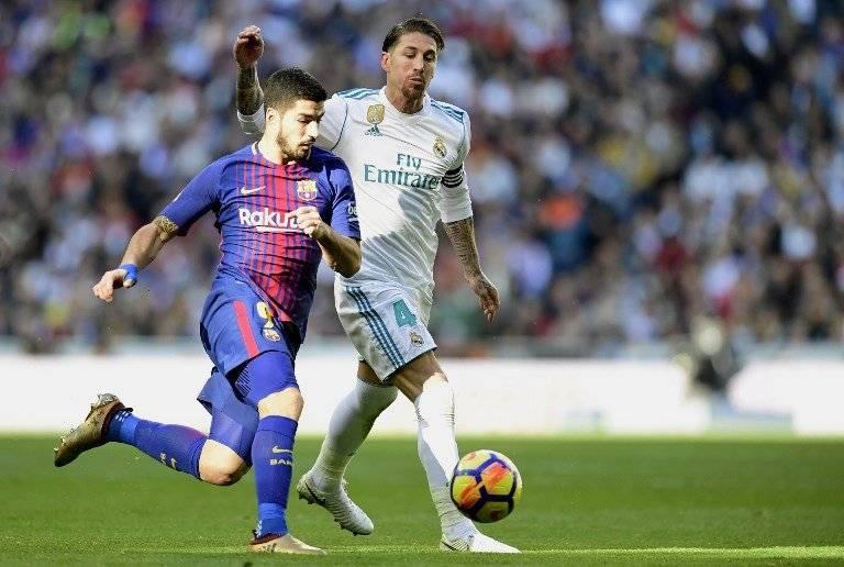 Luis Suárez y Sergio Ramos