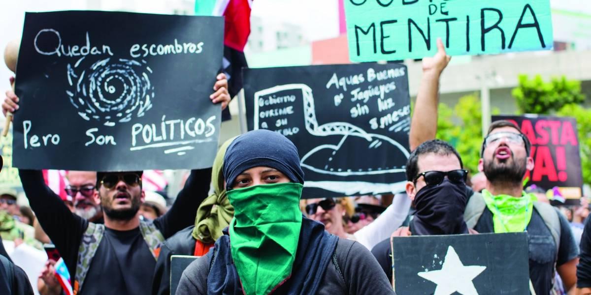 Descontento y represión por nuevas medidas de austeridad en Puerto Rico