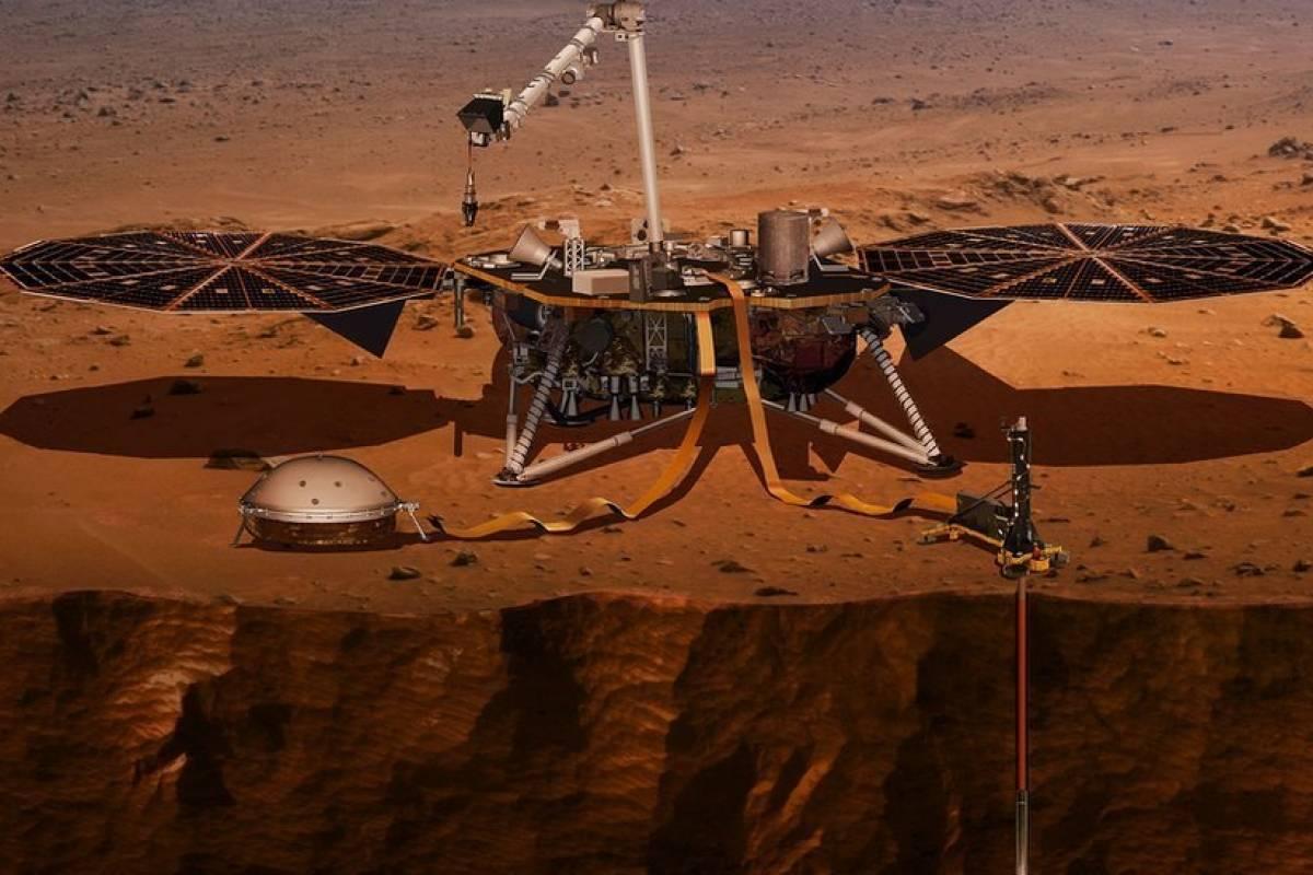 """4 """"misterios"""" de Marte que investigará la sonda Mars ..."""
