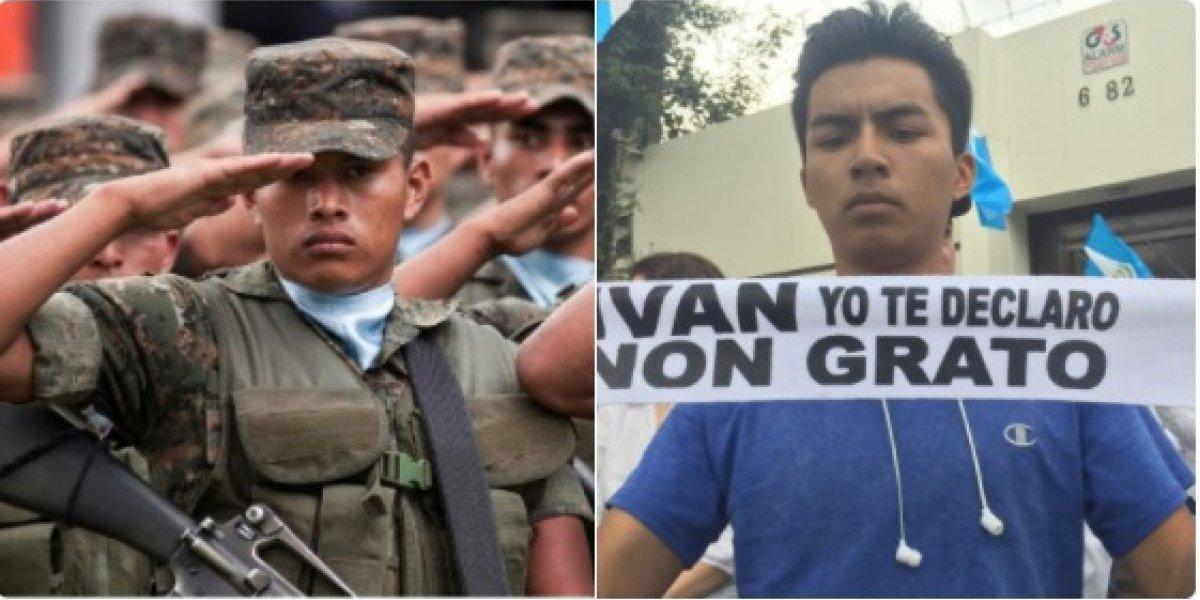 Ejército no participará en protesta frente a la CICIG