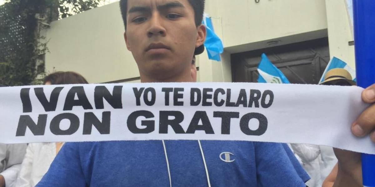 """El """"non-grato"""", la visa, la visita a la ONU. Así armó Morales su cruzada contra la CICIG"""