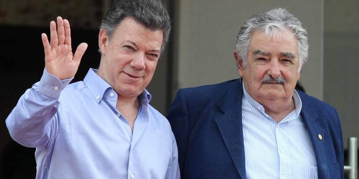 Santos se reúne con Pepe Mujica para hablar de las inquietudes del acuerdo de paz