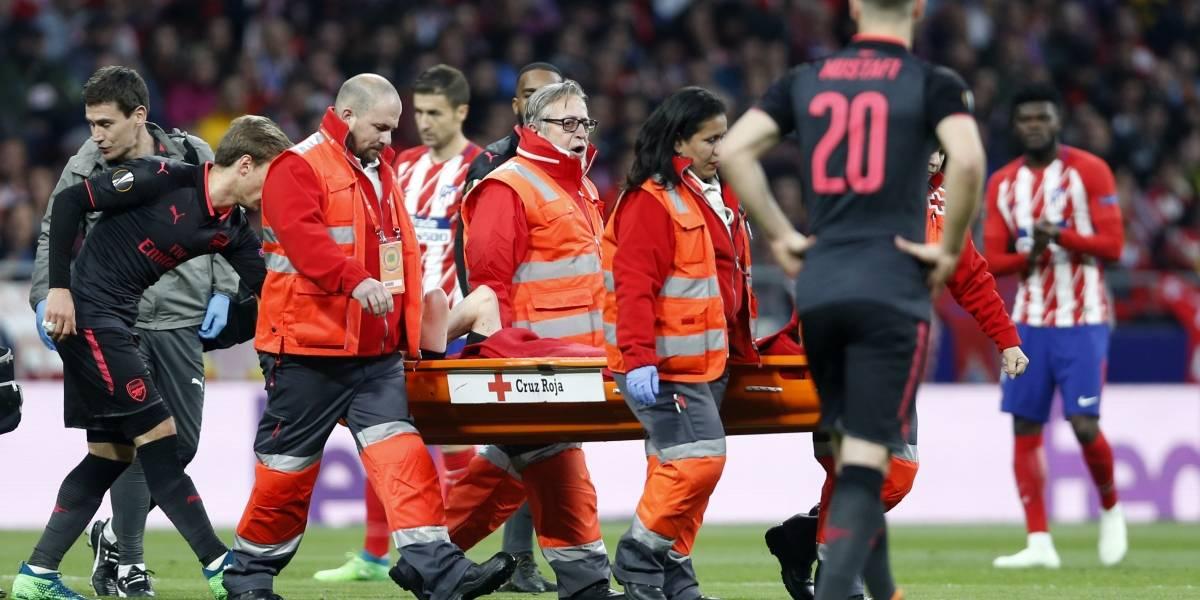 Francia confirma la baja por lesión de Laurent Koscielny para el Mundial de Rusia