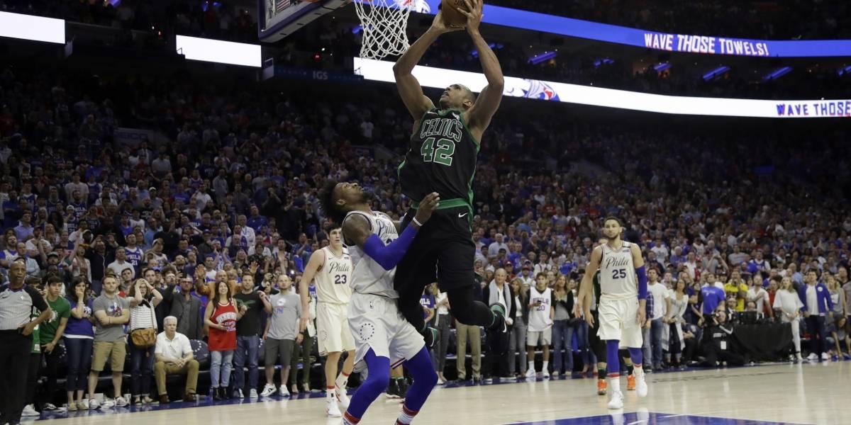 Celtics aventajan 3-0 en serie; vencen a 76ers en prórroga