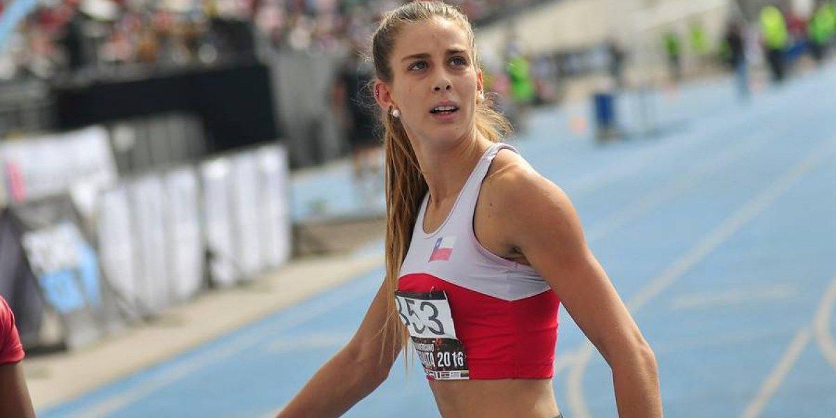 Isidora Jiménez acelera y se luce antes de los Juegos Suramericanos