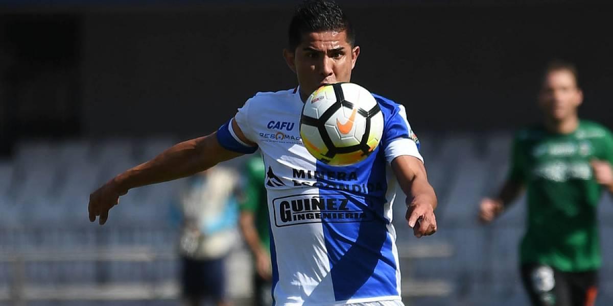 """Felipe Flores es figura en Antofagasta y saca pecho: """"No soy un goleador, pero si doy un pase gol, me siento feliz"""""""