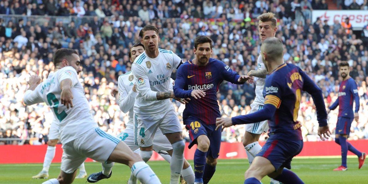 El Clásico: el pasillo del Madrid rumbo a Kiev tiene una parada en Barcelona