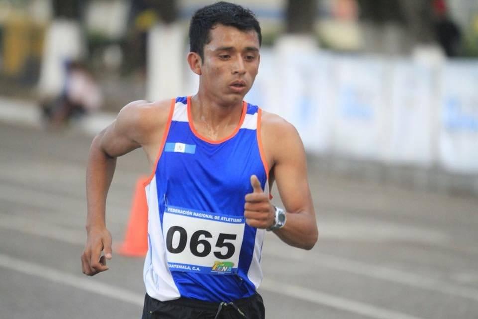 Uriel Barrondo en una competencia