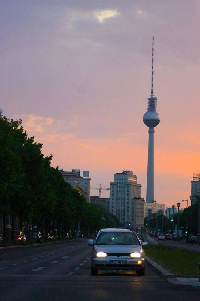 Karl Marx Allee en Berlín actual