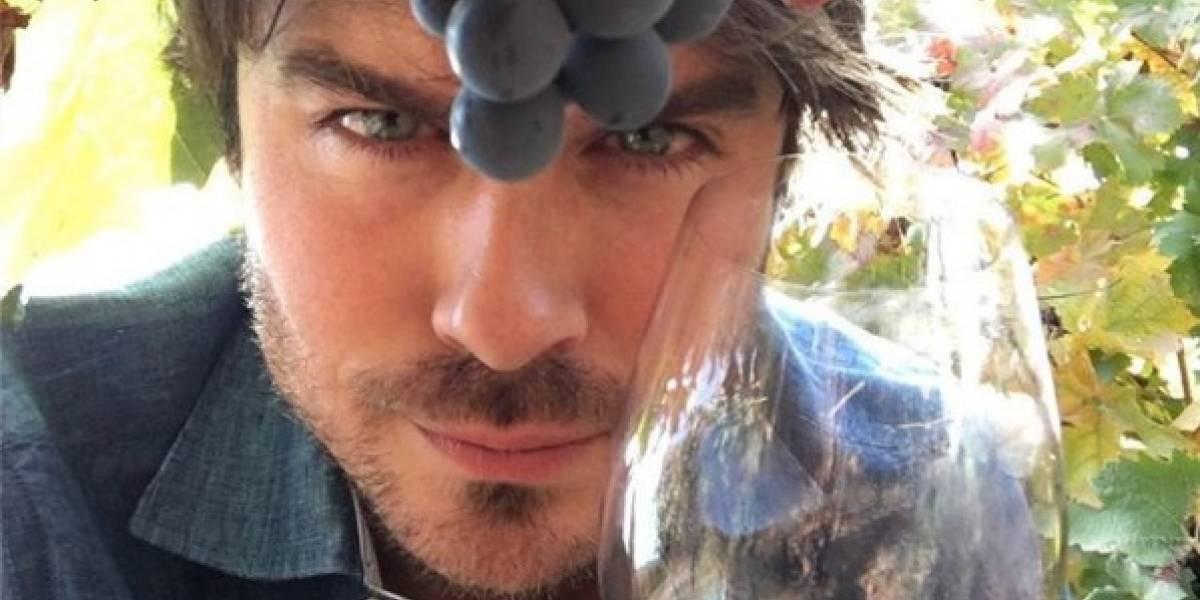 Actor de Lost está en nuestro país ¡Tomando vino!