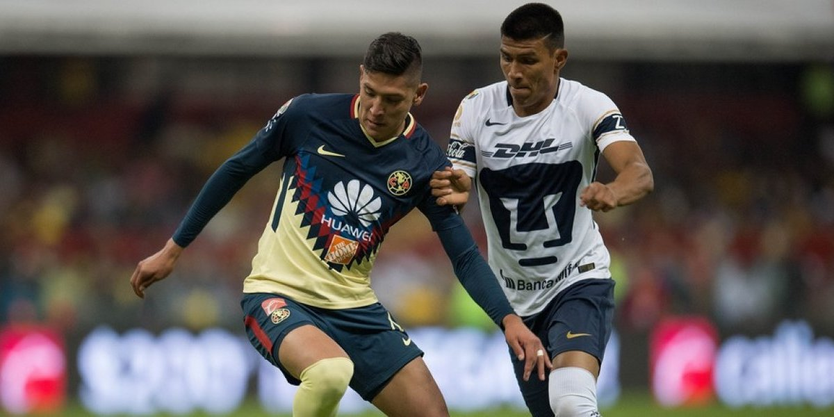 América vence 2-1 a Pumas (global 6-2) para avanzar a semifinales del CL18