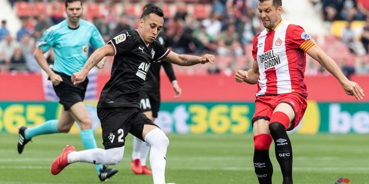 Fabián Orellana brilló en goleada del Eibar que sueña con instalarse en la Europa League