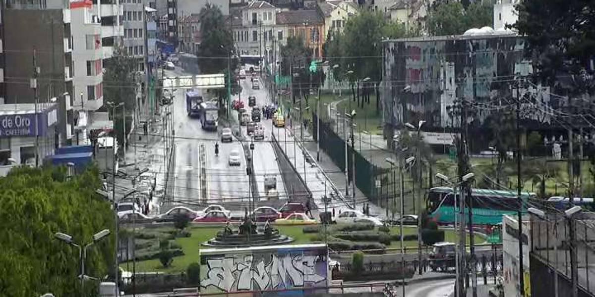 Se habilita el paso deprimido de la avenida Patria y 12 de Octubre