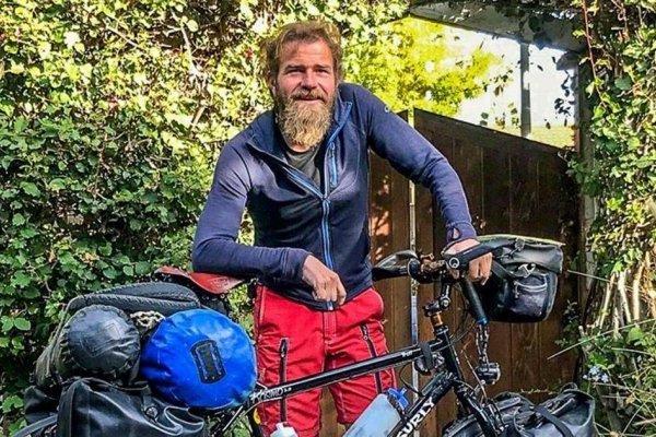 Ciclista aleman Holger Franz