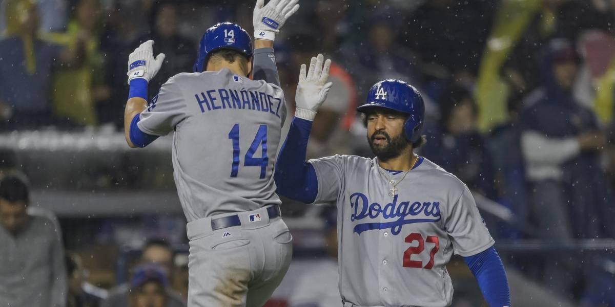 Dodgers vencen a Padres 4-0 en el primero de la serie en Monterrey