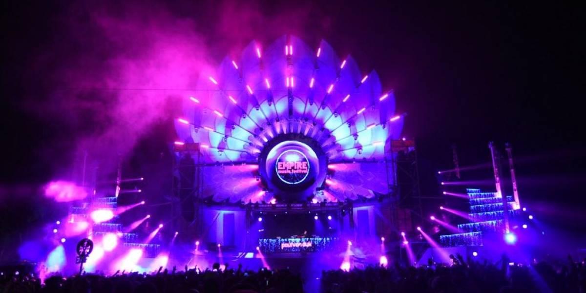Grandes estrellas brillan en el arranque del Empire Music Festival 2018