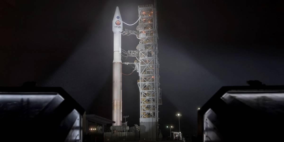 Primeiro veículo da Nasa para estudar as profundezas de Marte é lançado da Califórnia