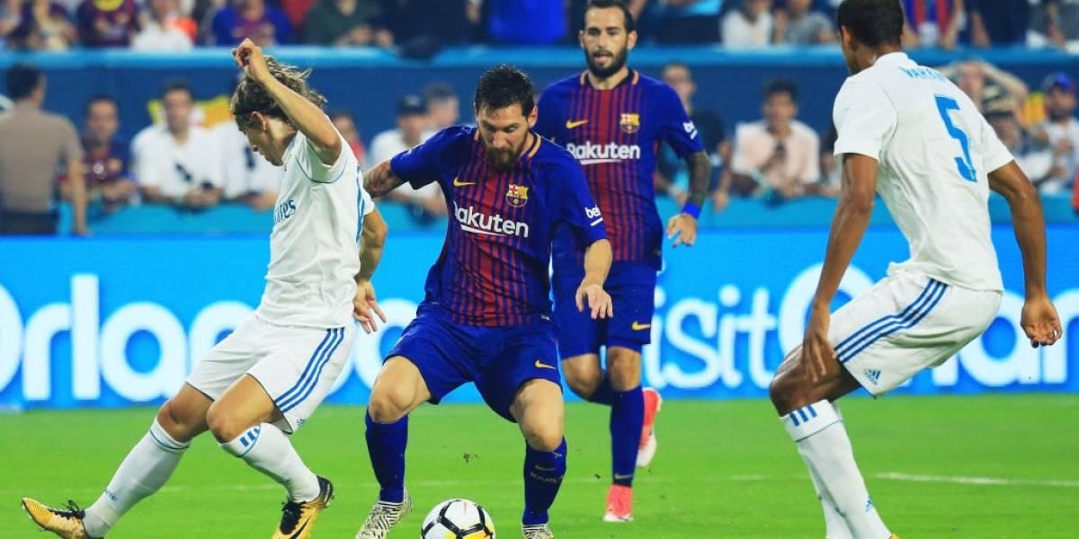 Barcelona y Real Madrid encienden al planeta con nuevo Superclásico español