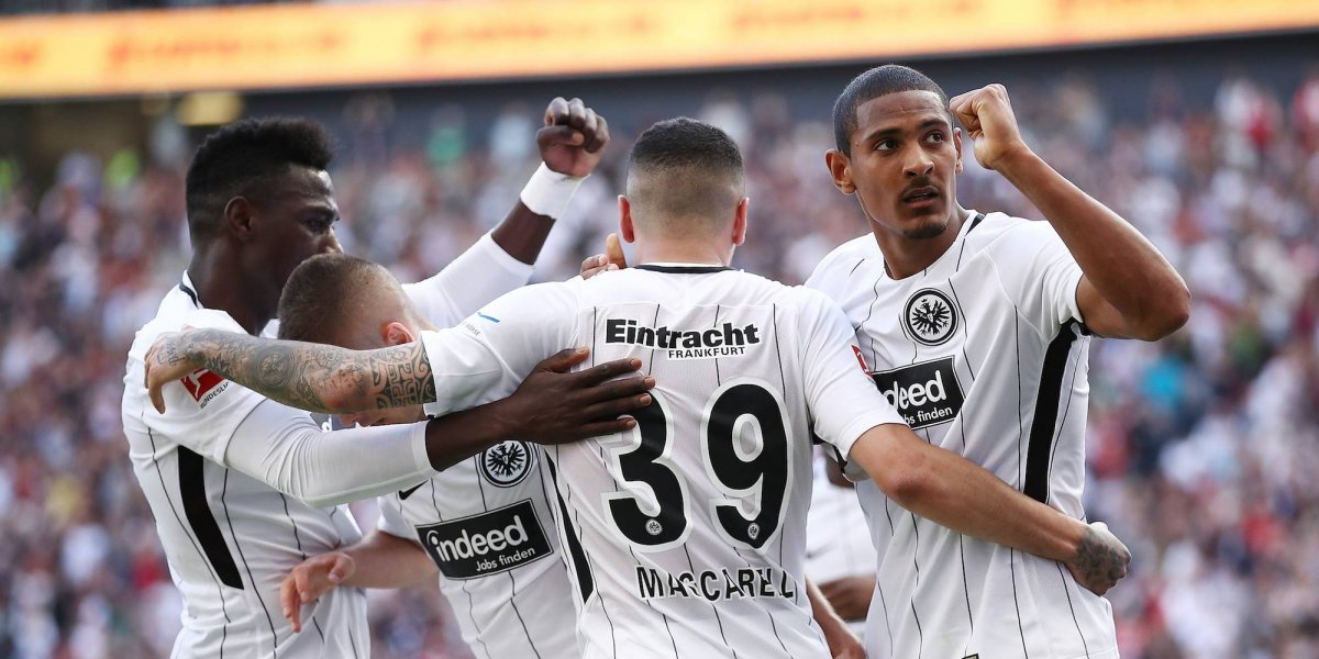 Con Salcedo de regreso, Eintracht Frankfurt venció al Hamburgo SV