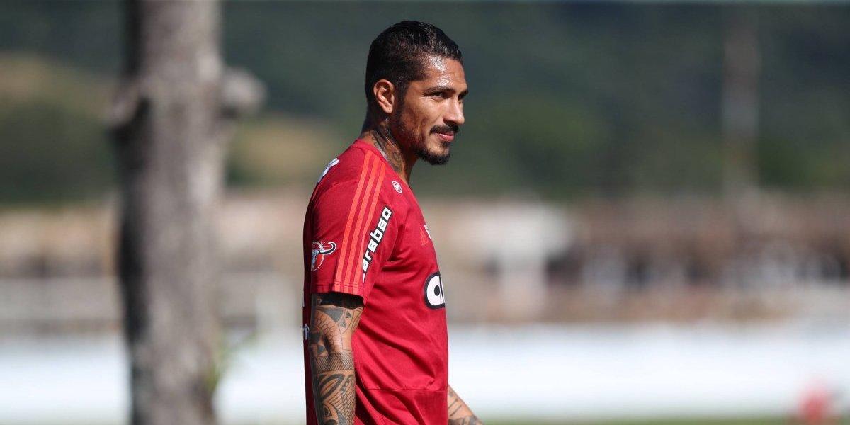 Guerrero treina e volta a ser relacionado no Flamengo para enfrentar o Inter