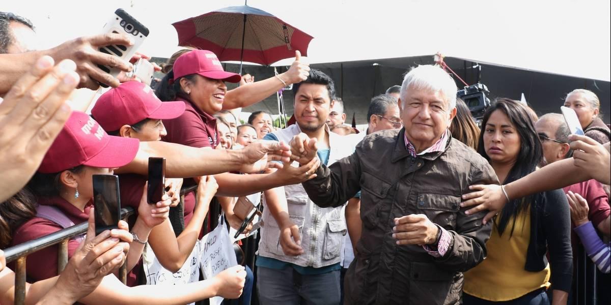 López Obrador promete, en caso de ganar, honradez en el presupuesto