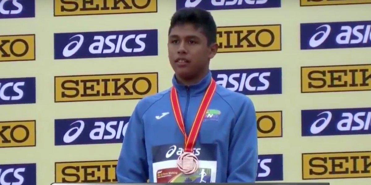 """José Ortiz: """"Esta medalla no solo es mía, también es de la población guatemalteca"""""""