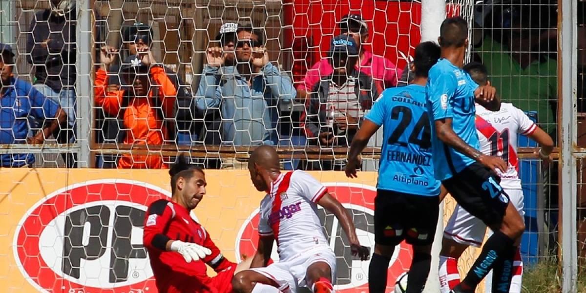 Iquique y Curicó siguen sin despegar en el Campeonato Nacional tras un electrizante empate en Cavancha