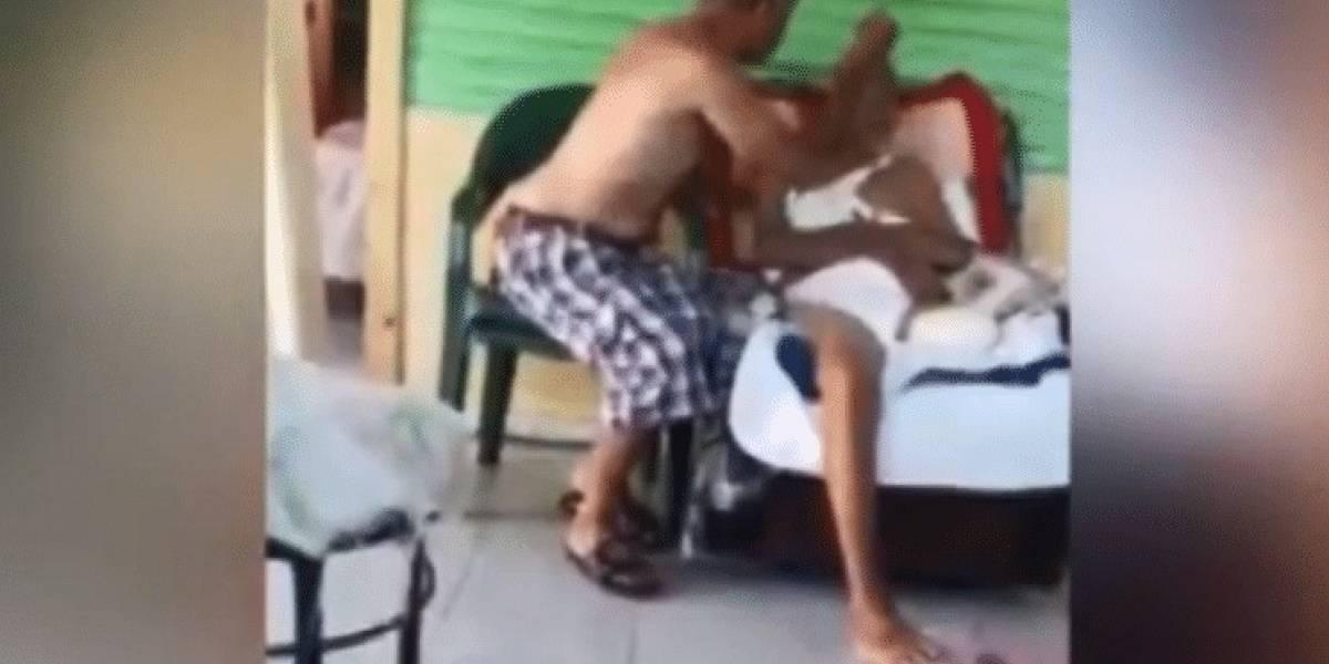 Imponen tres meses de coerción a hombre por maltratar a su padre de 99 años