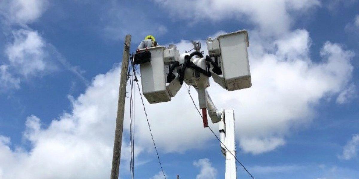 AEE reporta 98.47 por ciento en restablecimiento de la energía
