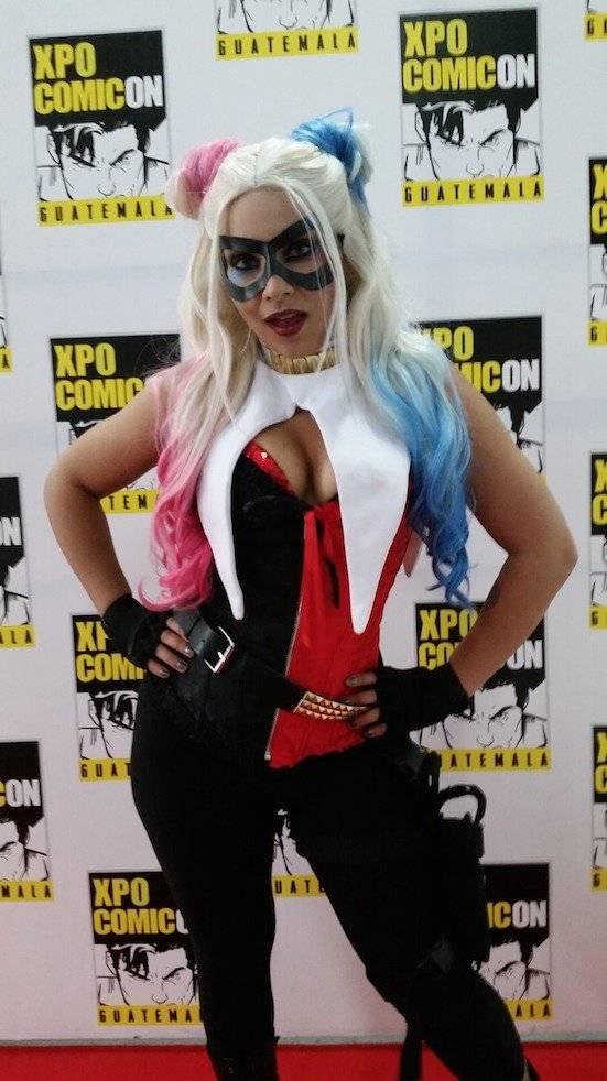 La cosplayer estadounidense Soni Aralynn es una de las atracciones más importantes de la Xpo Comicon Guatemala 2018. Foto: David Lepe Sosa