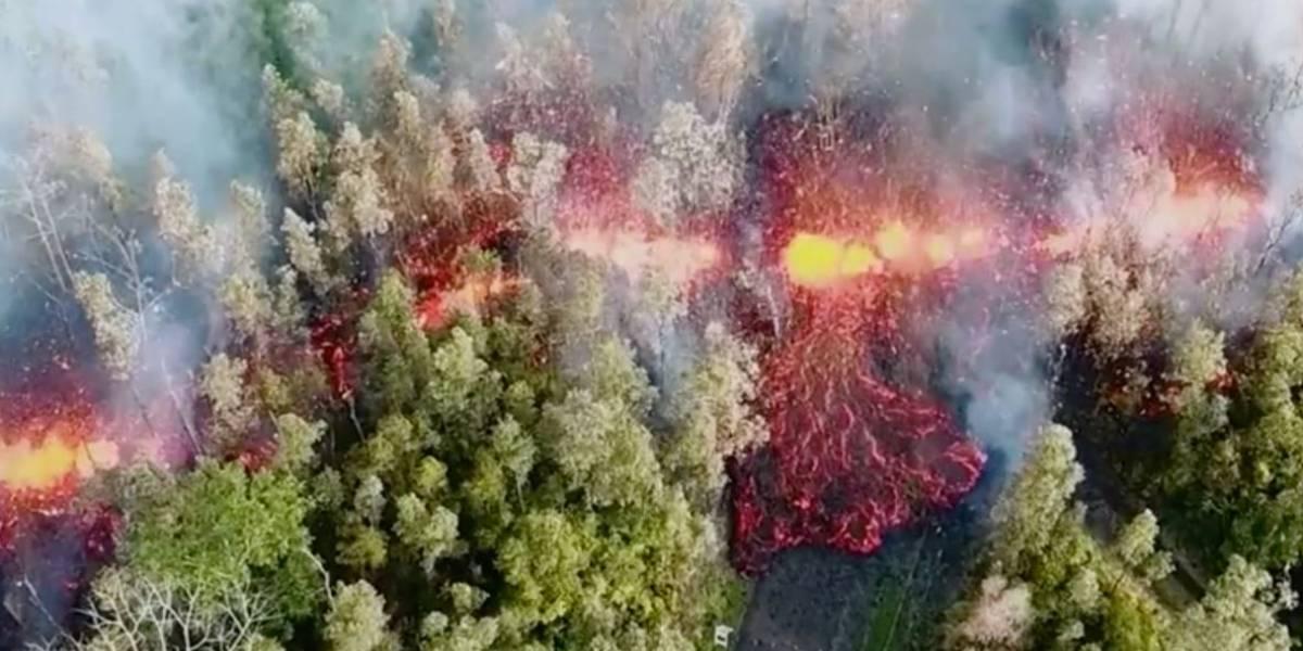 Terremotos causados por erupção sacodem maior ilha do Havaí