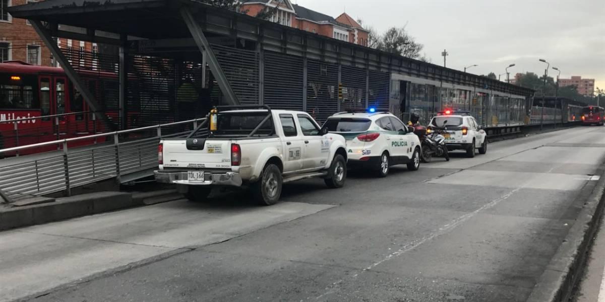 Hombre murió por un ataque al corazón en plena estación de TransMilenio