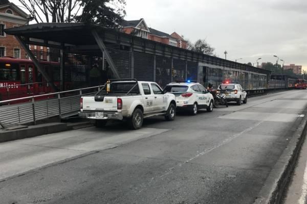 Ataque al corazón en TransMilenio