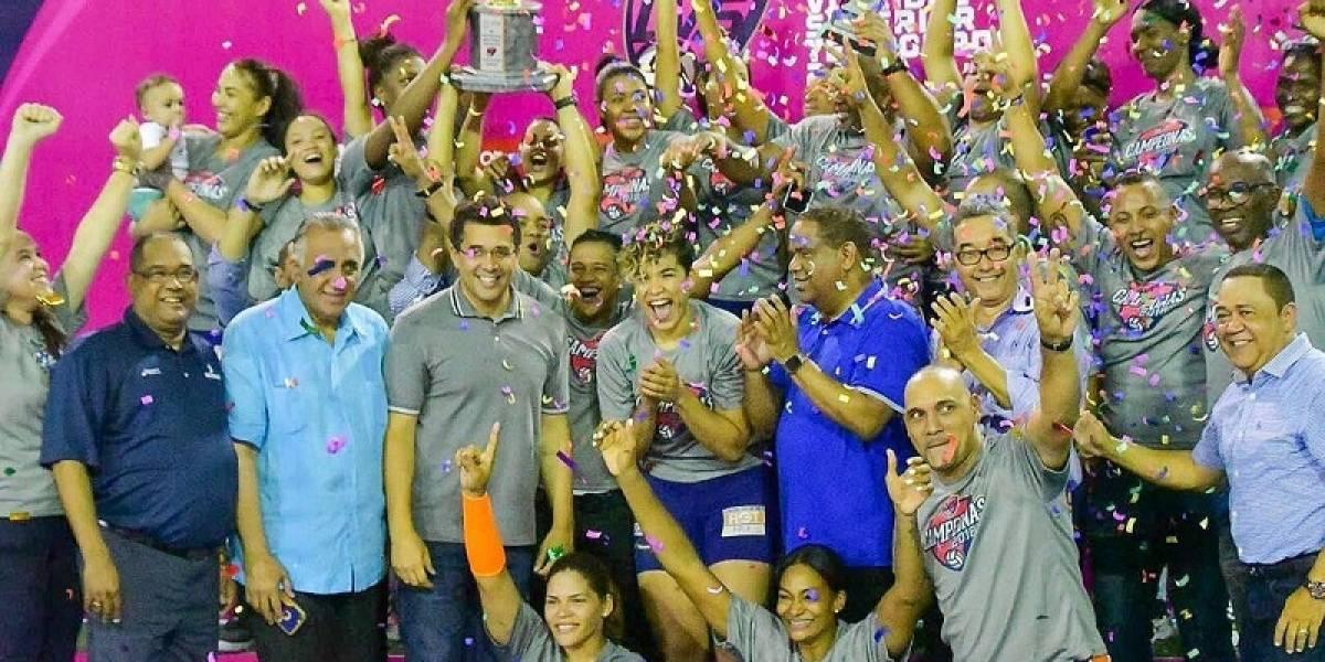 Las Caribeñas son las campeonas de Liga de Voleibol Superior