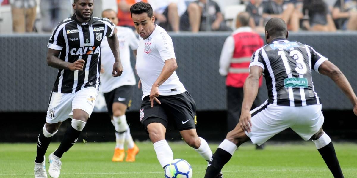 Corinthians empata com Ceará e acumula o quarto jogo seguido sem vitória
