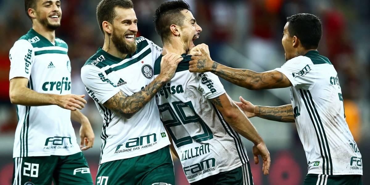 Palmeiras vence na Arena da Baixada e acaba com invencibilidade do Atlético-PR