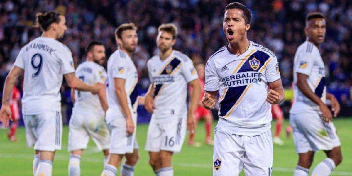 VIDEO: Giovani dos Santos mete gol en la derrota del Galaxy