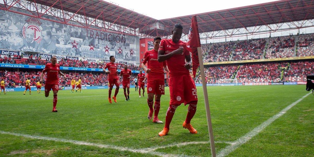 Toluca pasa de panzazo a la semifinal del Clausura 2018