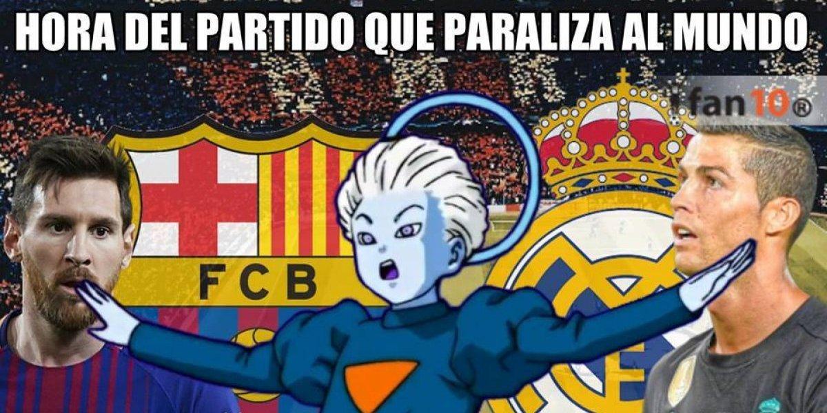 Los mejores memes del Clásico de España