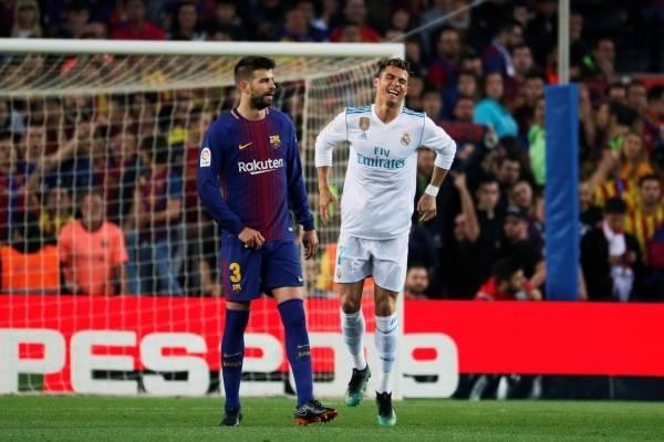 Lesión de Cristiano Ronaldo vs Barcelona