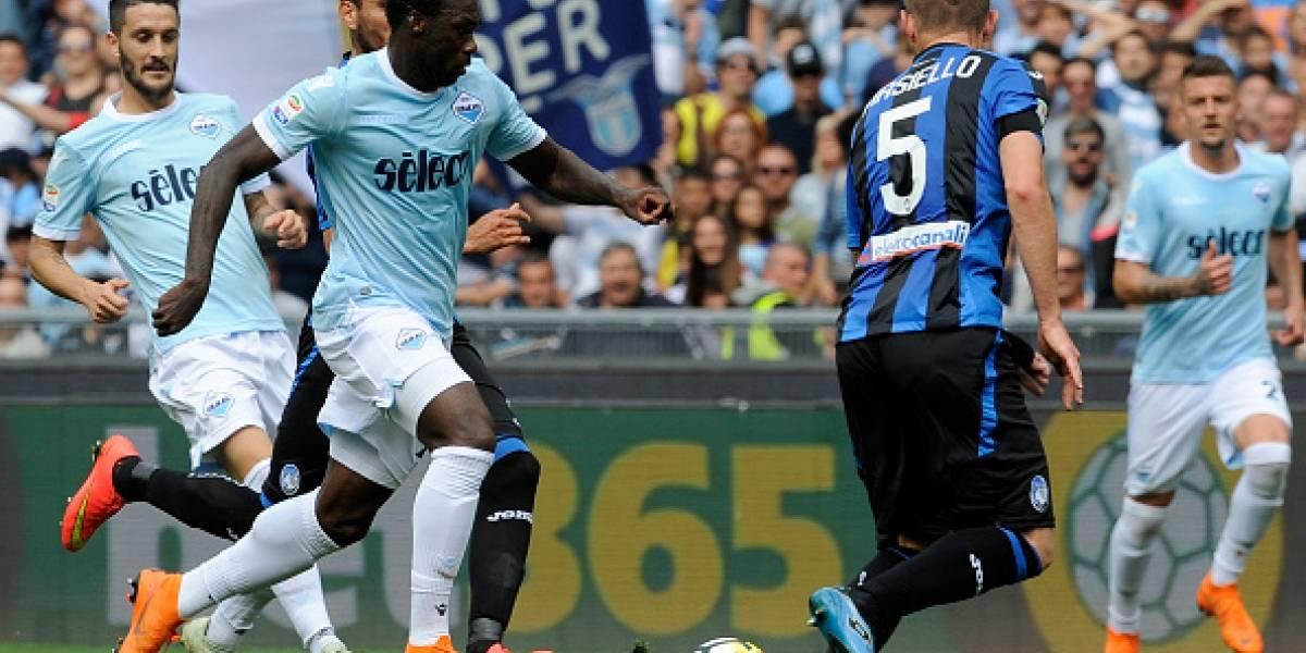 Felipe Caicedo anotó y le dio el empate a Lazio que busca clasificar a Champions League