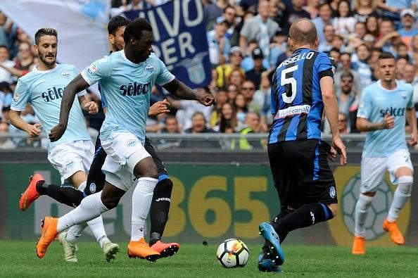 Felipe Caicedo marca el gol del empate a Lazio Getty Images