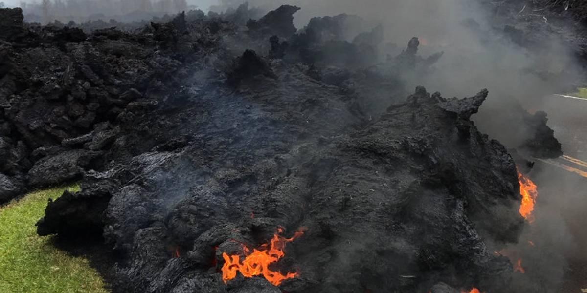Alerta roja por el volcán Kilauea : 21 casas destruidas totalizan autoridades en Hawai