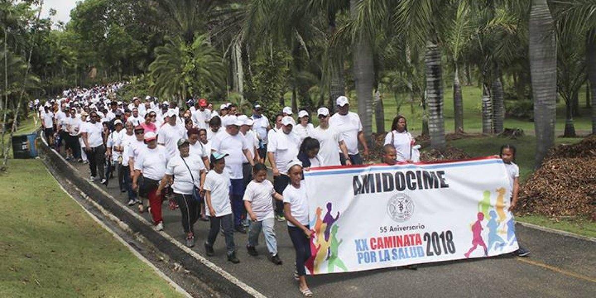 La Asociación Militar Dominicana Ciencias Médicas realiza su 20va a caminata por la salud